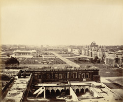 Kaiserbagh, Lucknow [General view taken from the tomb of Saadat Ali].